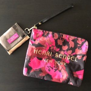 NWT Henri Bender Camo Pouch with Coin Purse
